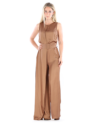 JUMPSUIT WITH DRAPING