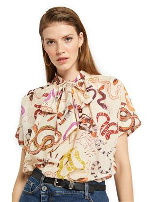 "CAMICIA STAMPA ""SNAKE"""