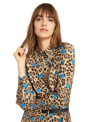 "CAMICIA STAMPA ""ANIMALIER & POIS"""