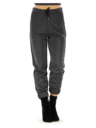 LUREX fleece PANTS