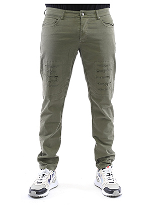 TROUSERS WITH BREAKS