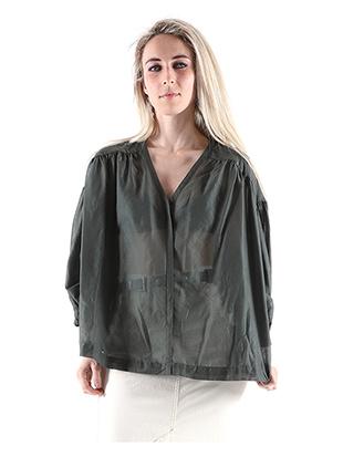 Camicia svasata in cotone