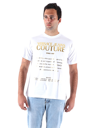 T-SHIRT WITH WRITINGS