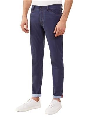 INDIGO TECHNO TROUSERS
