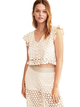 CROP TOP PIZZO