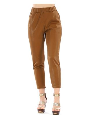 GLOSSY TROUSERS