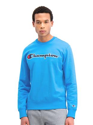 COTTON SWEATSHIRT WITH SATIN LOGO