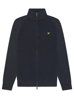 Knitted Zip Through Cardigan